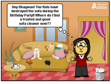Mrs Verma (post her son's Birthday Bash at home)