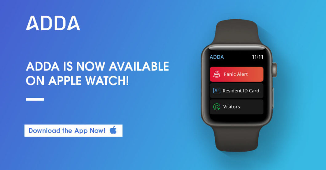 adda on apple watch