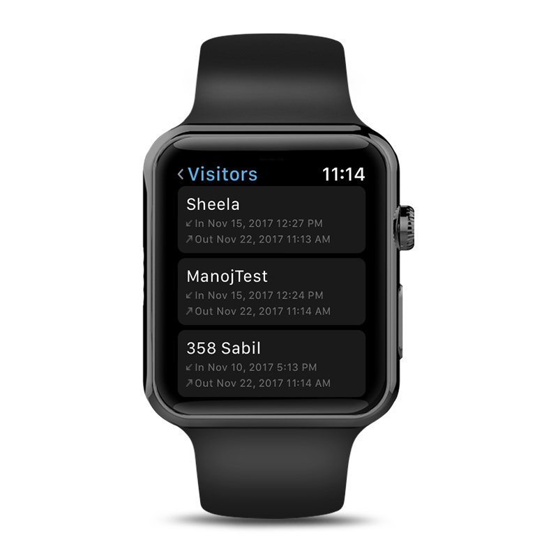 ADDA-AppleWatch-VisitorLog