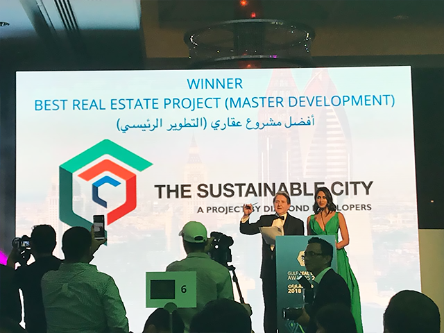 award to sustainable city
