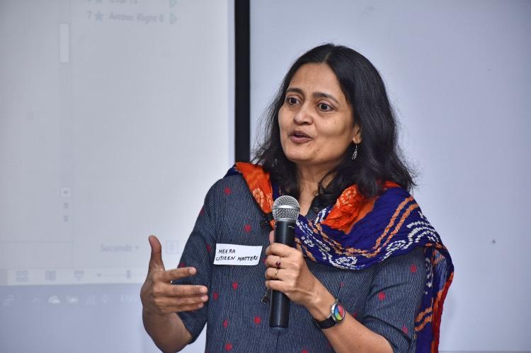 Meera at ADDA Water Workshop