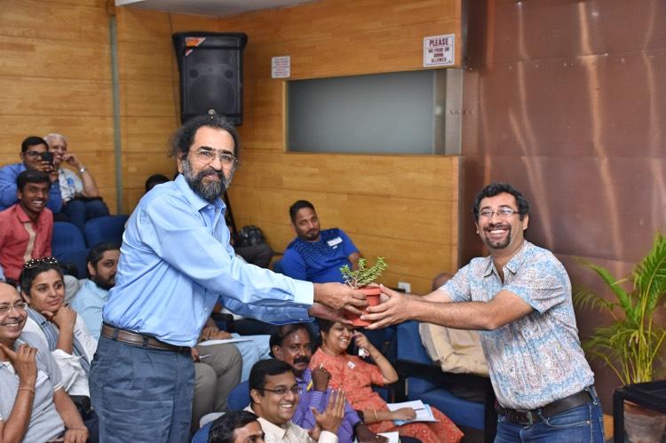ADDA Water Workshop, Avinash Krishnamurthy and Ananth Kodavasal