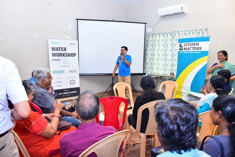 ADDA Water Management Workshop, Chennai, June 2019