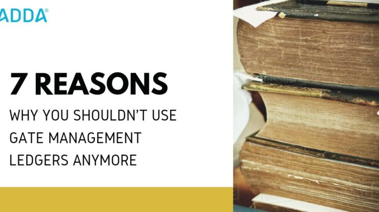 7 Reasons why we should use Apartment Management Software and not Ledgers