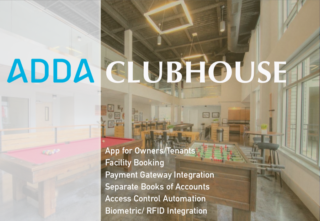 ADDA Clubhouse Management