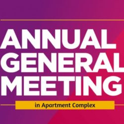 What Should Be Your Apartment Complex's Annual General Meeting Agenda?