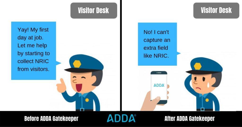NRIC capturing