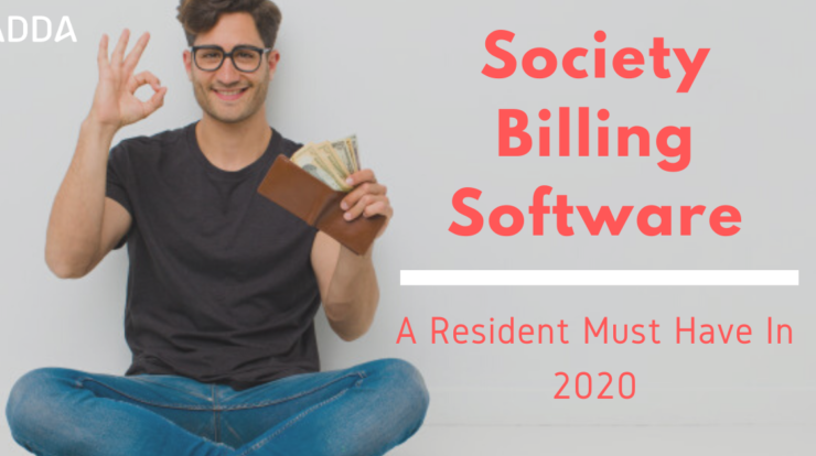Society Billing Software
