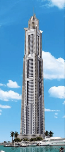 marina-torch-5th-tallest-residential-building