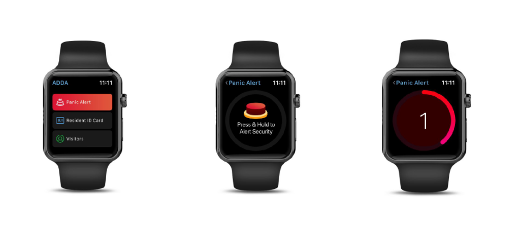 Housing Society App - ADDA is now available on Apple Watch