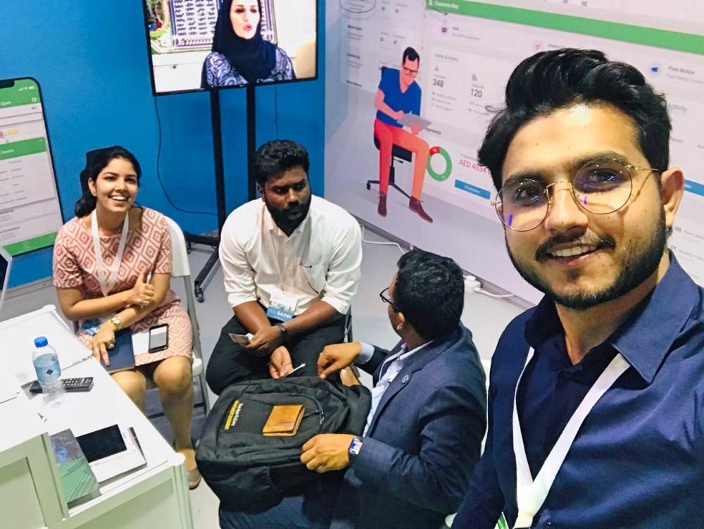 ADDA Team at FM EXPO Dubai 2018