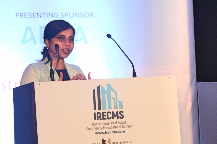 San Bannerjee, CEO of ADDA, speech at IRECMS