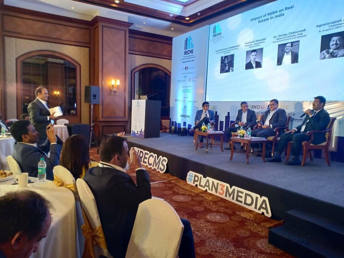 Impact of RERA on Real Estate in India, Hari Eswaran, IRECMS