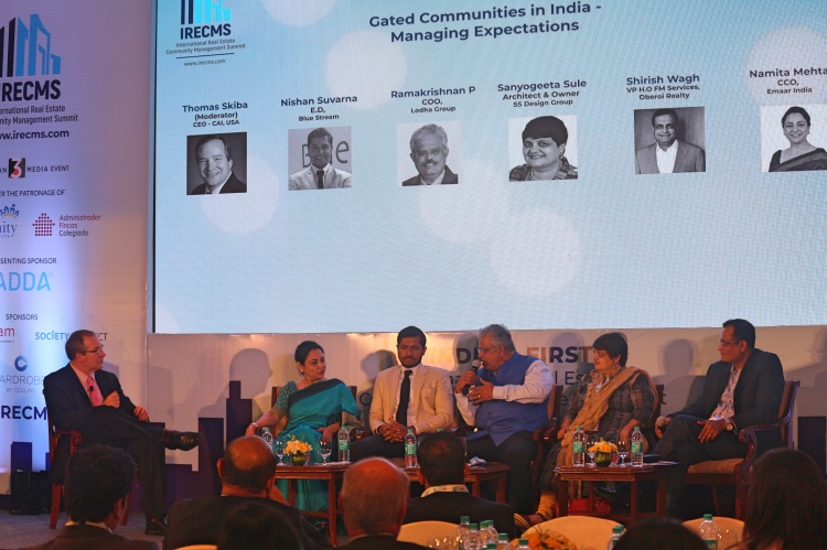 Gated communities in India - Managing Expectations, IRECMSz