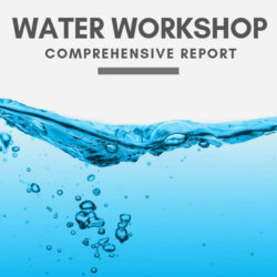 ADDA Water Workshop Comprehensive Report