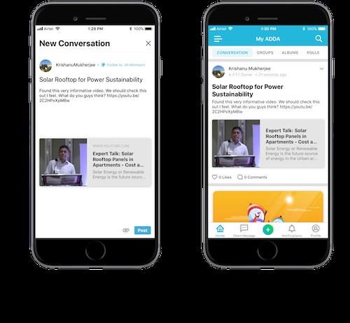 MyADDA update on ADDA App