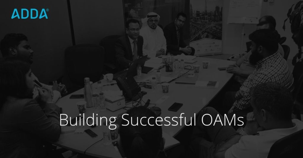 How to be a successful OAM