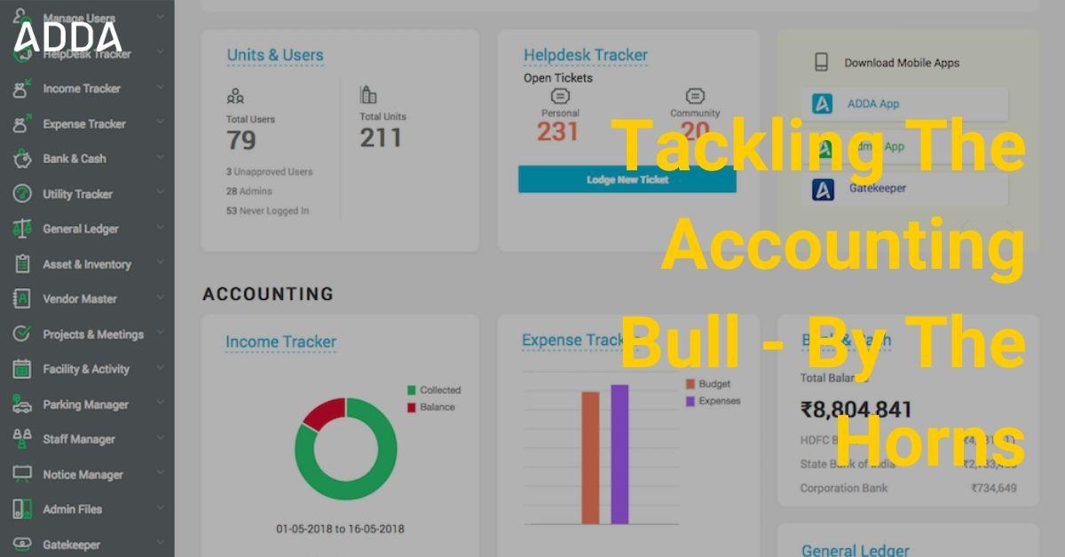 ADDA Society Accounting Software