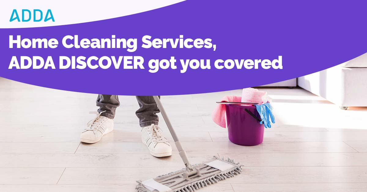 ADDA Discover Home CLeaning Services