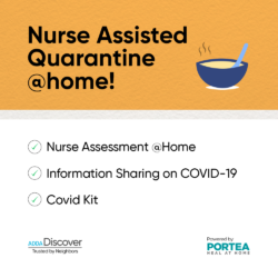 Nurse Assisted Quarantine @ Home in ADDA App.