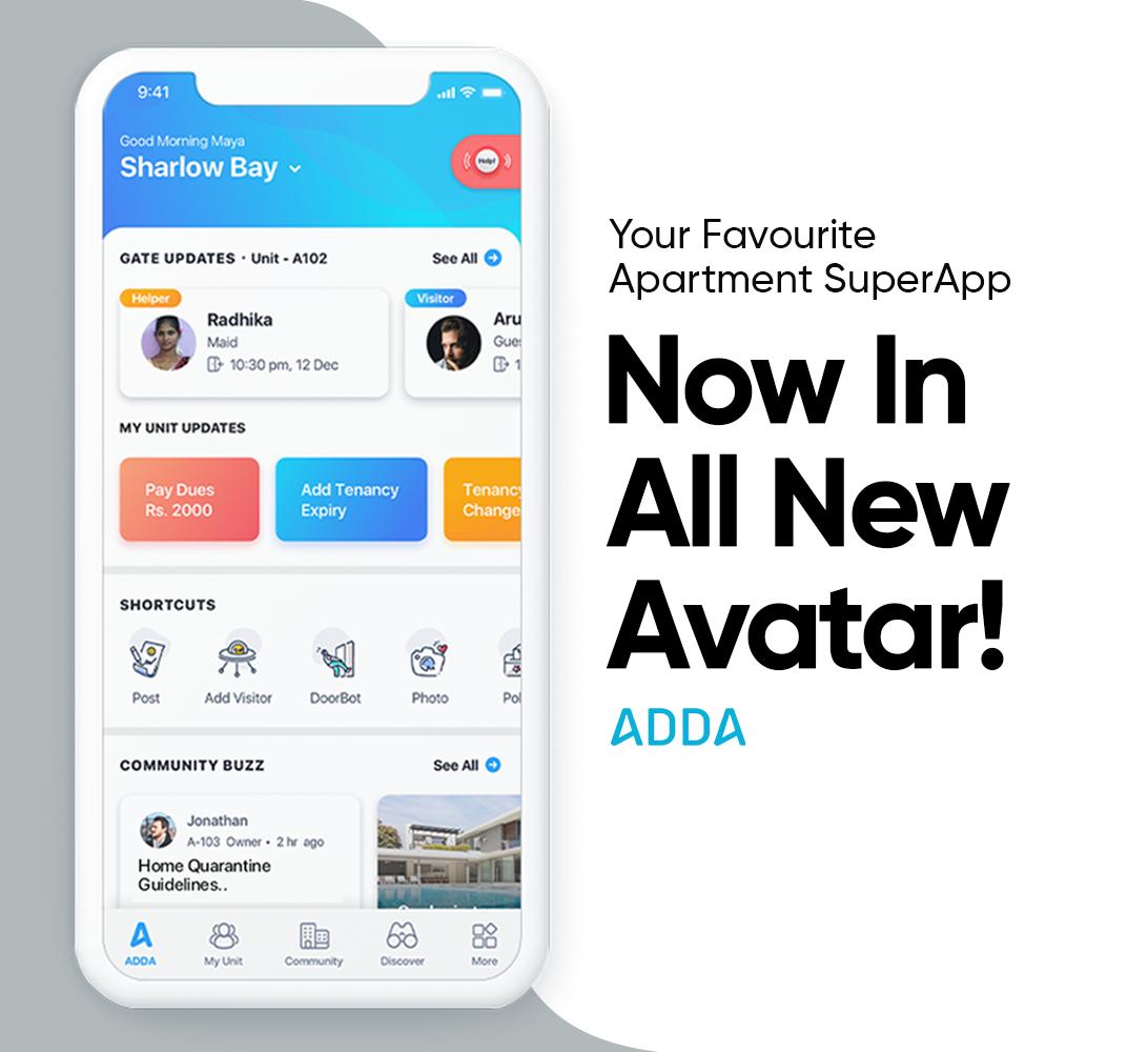 ADDA App Now Has a New UI