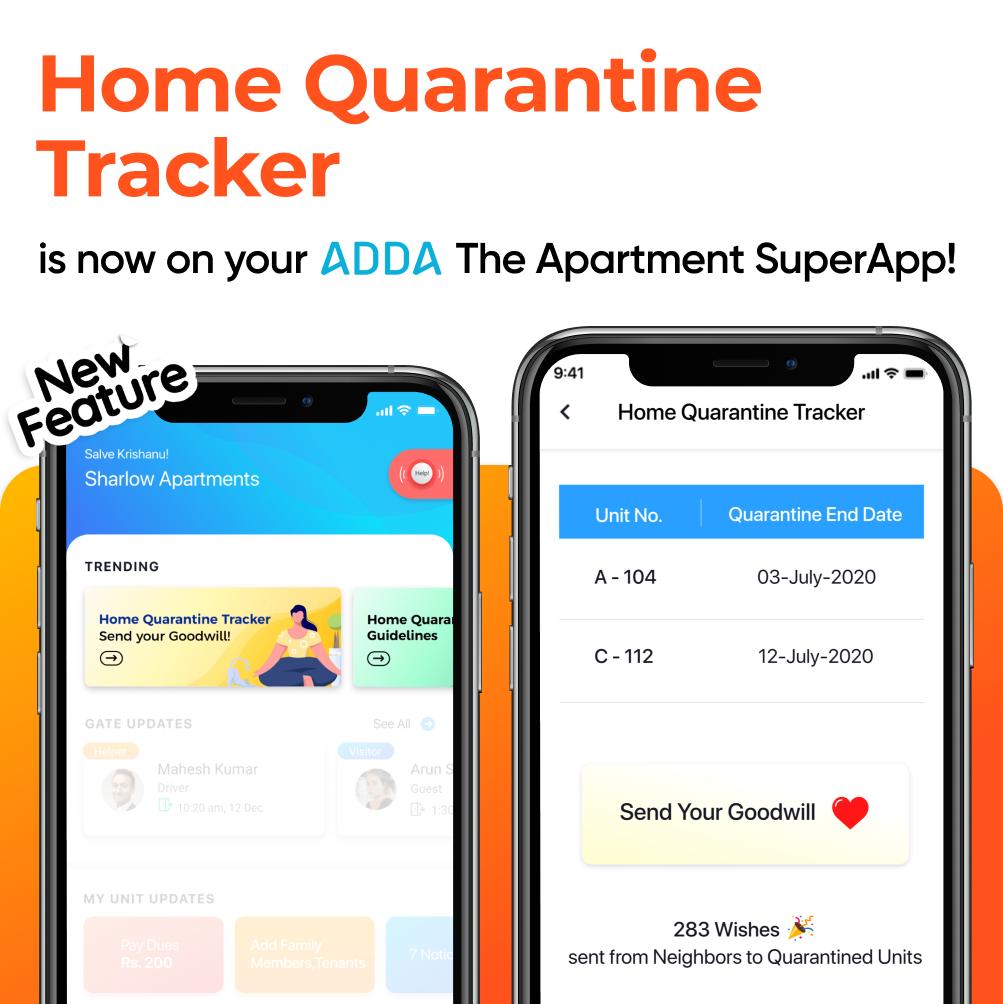 Home Quarantine Tracker