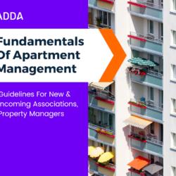 Fundamentals of Apartment Management
