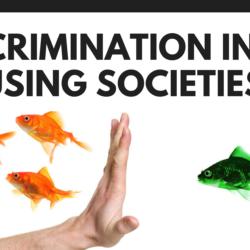 Discrimination in housing societies