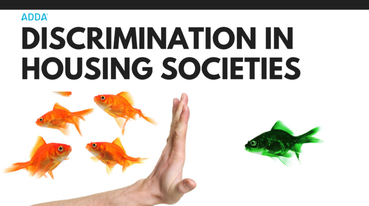 Discrimination in housing societies