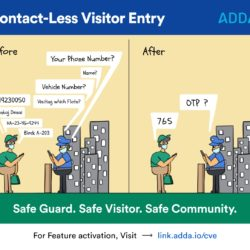 Contact-less Visitor Entry
