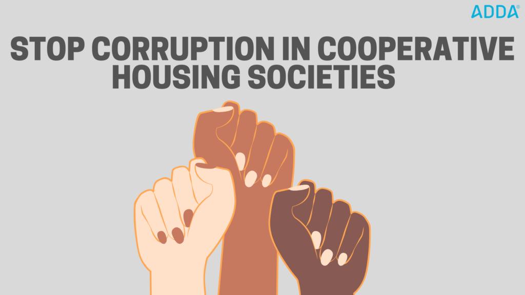corruption in housing societies