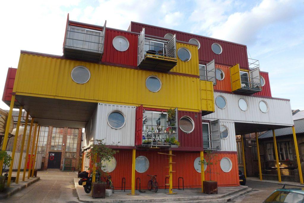 container city apartment