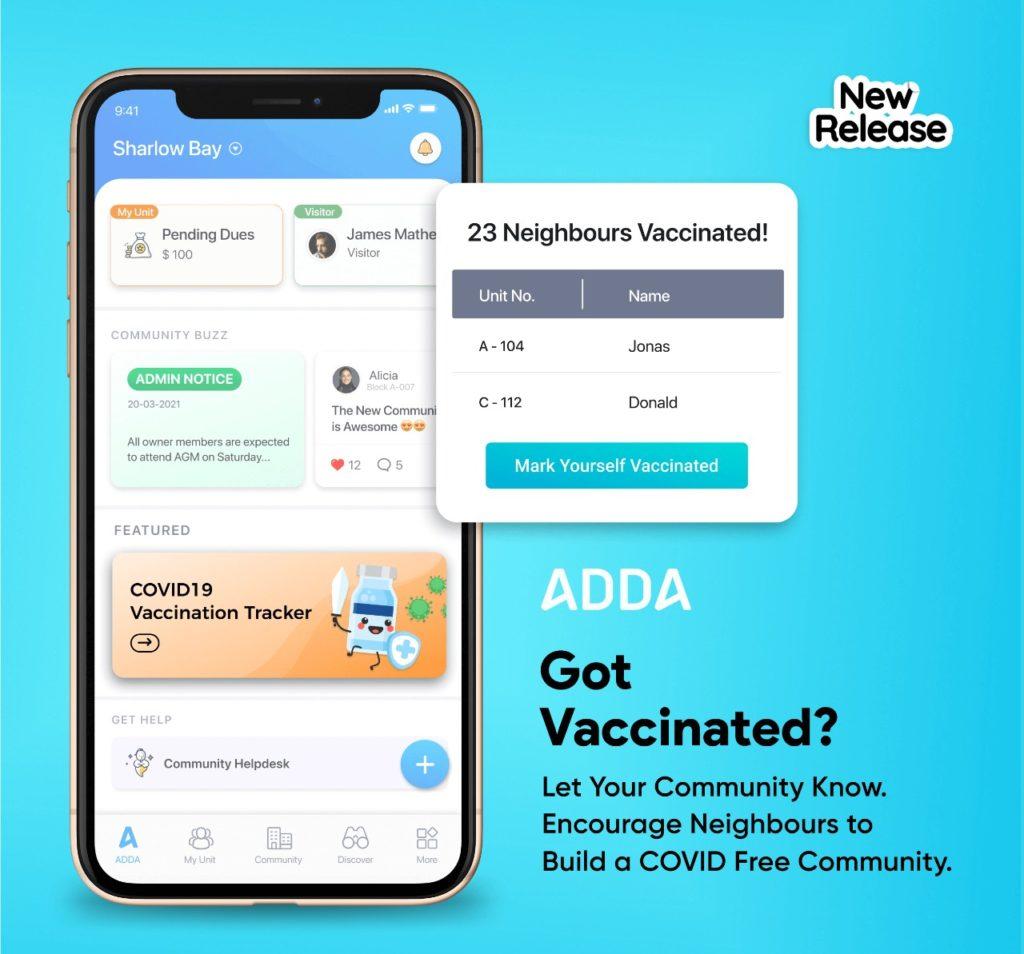 covid Vaccination Tracker