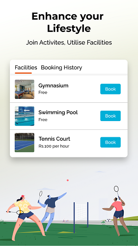 Online Facility Booking