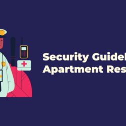 Apartment security guidelines