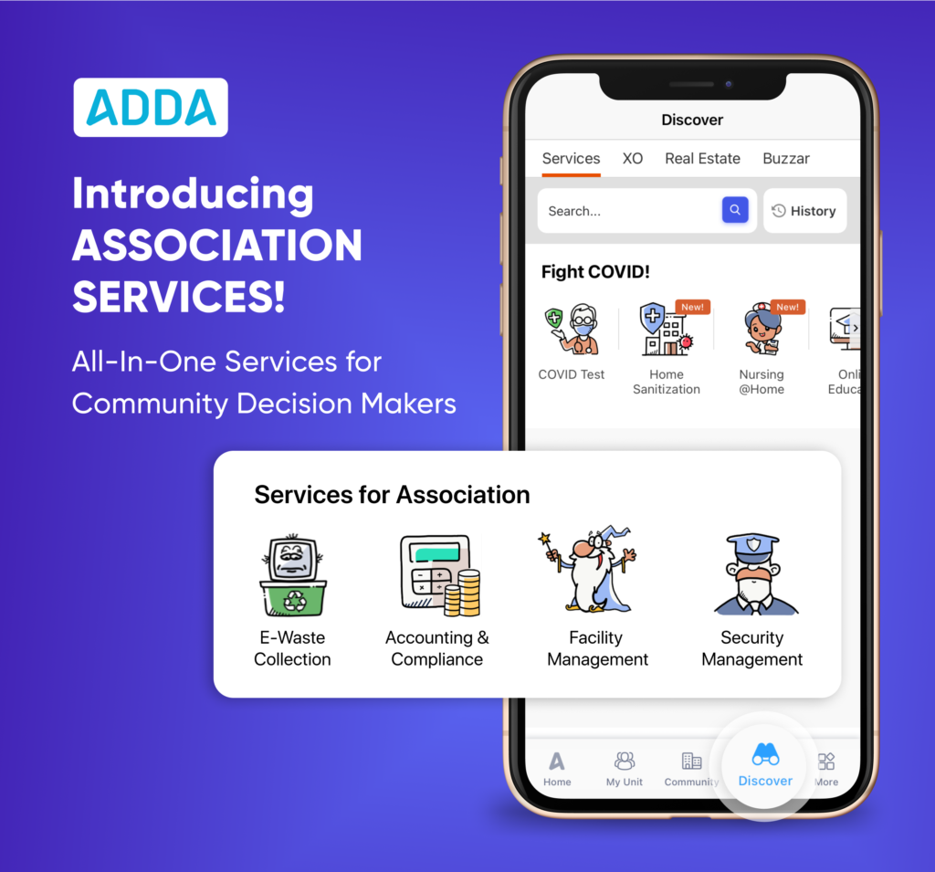 Services for Association