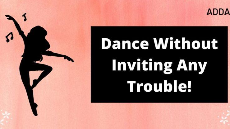 dancing in apartment